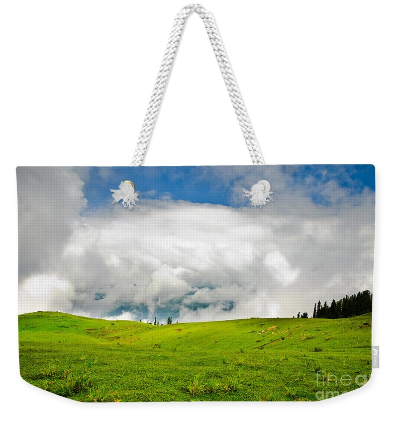 Meadows Weekender Tote Bag featuring the photograph The Real Windows Desktop by Syed Aqueel