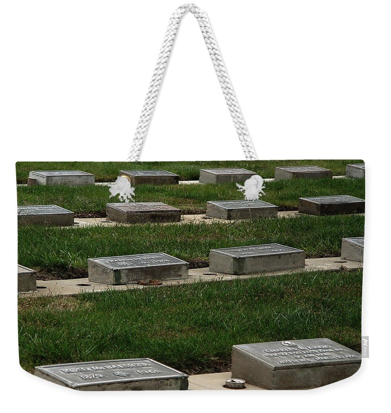 The Resting Place Weekender Tote Bag featuring the photograph The Resting Place by Peter Piatt