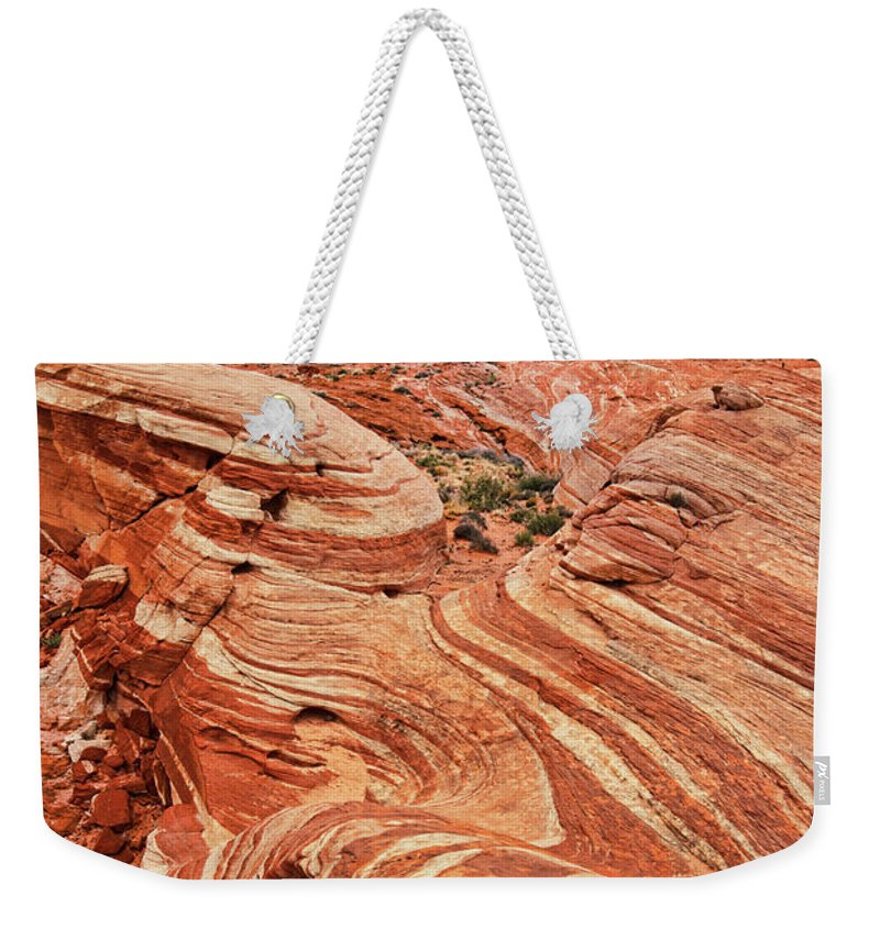 Scenics Weekender Tote Bag featuring the photograph The Sand Crawler by Lee Sie Photography