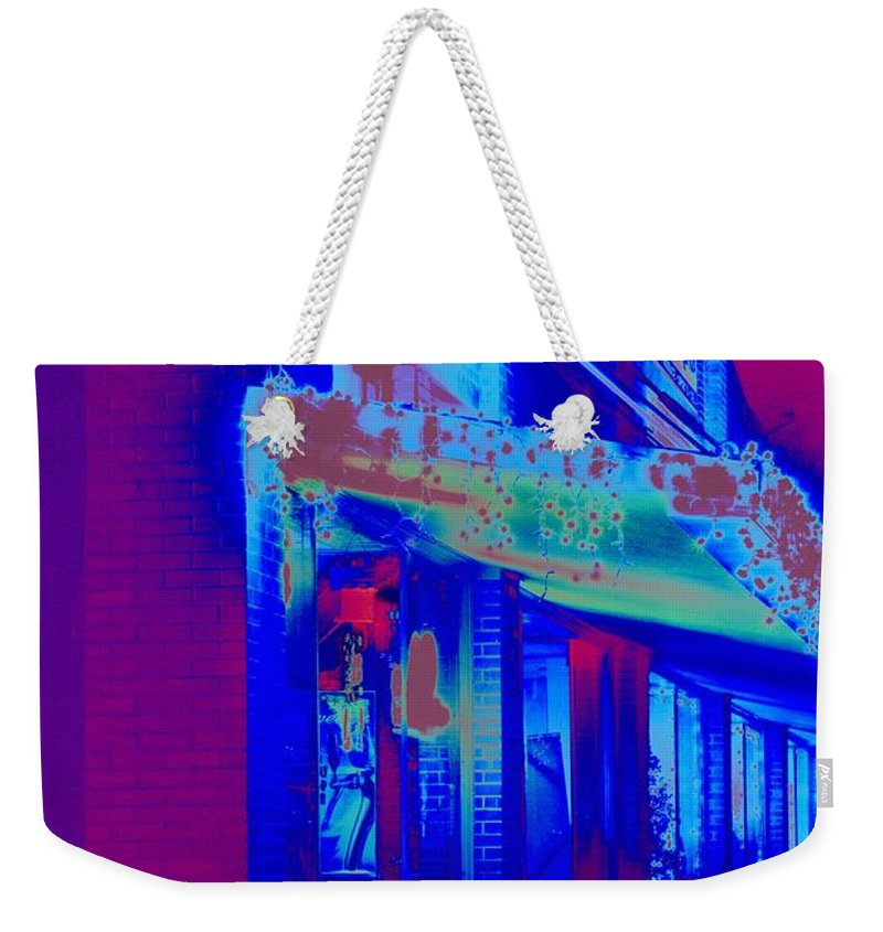 Sidewalk Weekender Tote Bag featuring the photograph The Side Walk by Anthony Walker Sr