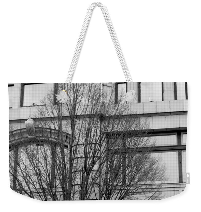 Old Fashioned Weekender Tote Bag featuring the photograph the Soda Shoppe by Alanna DPhoto