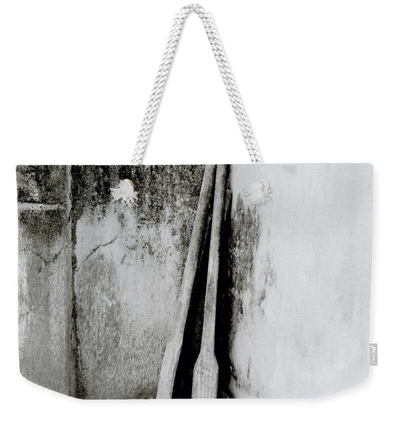 Simplicity Weekender Tote Bag featuring the photograph Still Life In Cochin by Shaun Higson