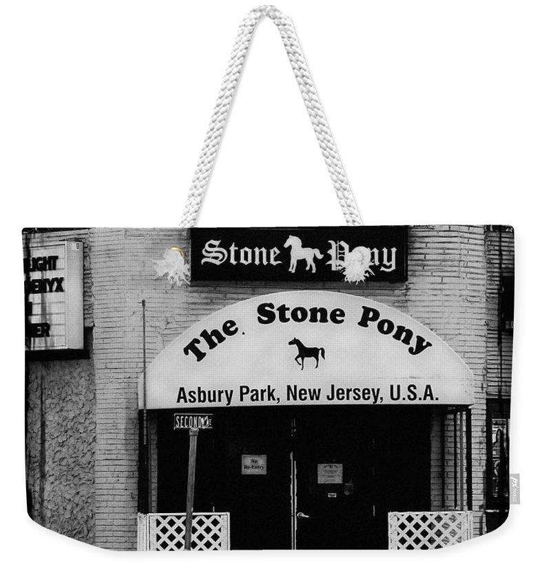 Bruce Springsteen Weekender Tote Bags
