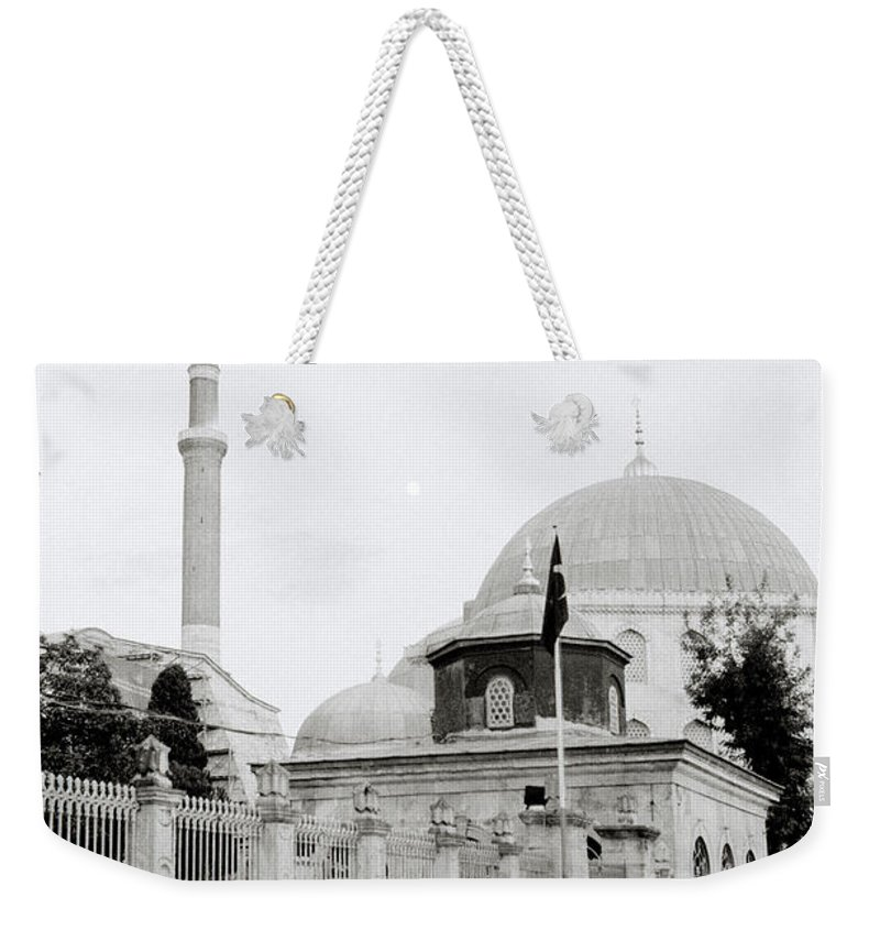 Hagia Sophia Weekender Tote Bag featuring the photograph The Street by Shaun Higson