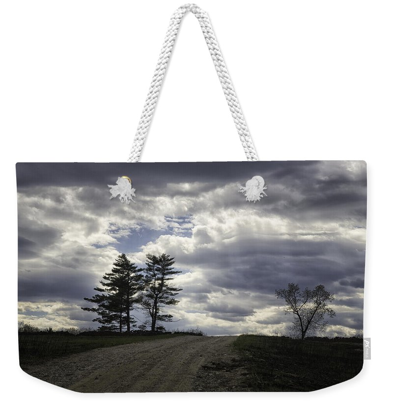 Tree Weekender Tote Bag featuring the photograph The Summit by Fran Gallogly