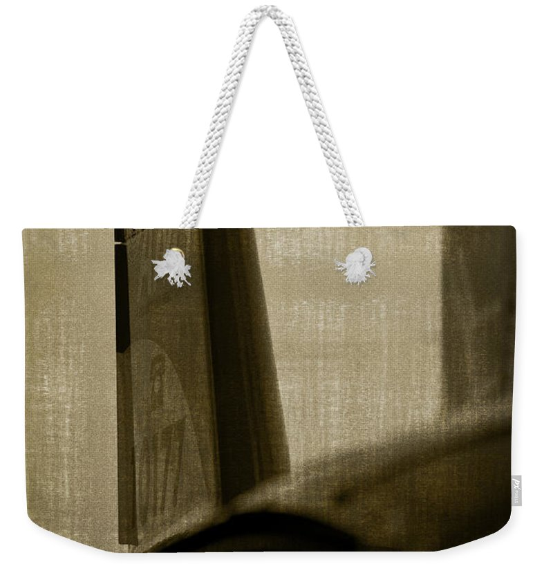 Aviation Weekender Tote Bag featuring the photograph The Tail by Paul Job