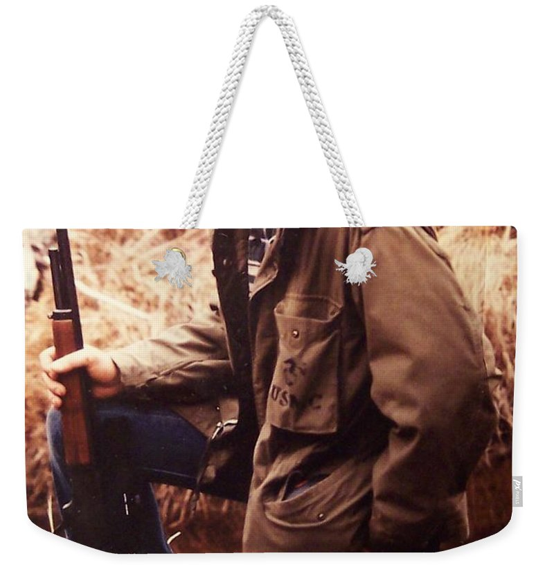 Tom Woolworth Weekender Tote Bag featuring the photograph The Thought by Thomas Woolworth