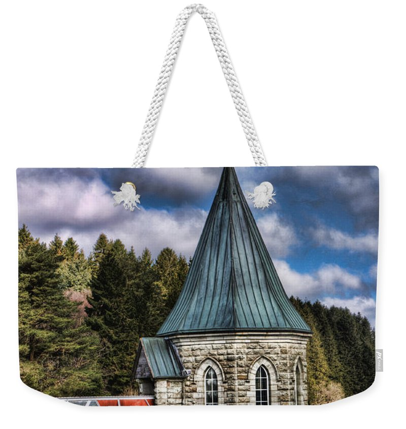 The Valve Tower Weekender Tote Bag featuring the photograph The Valve Tower by Steve Purnell