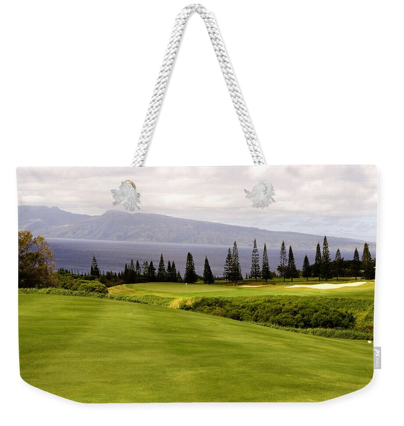 Golf Weekender Tote Bag featuring the photograph The View by Scott Pellegrin