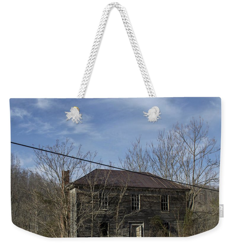 Abandoned Weekender Tote Bag featuring the photograph The View by Teresa Mucha