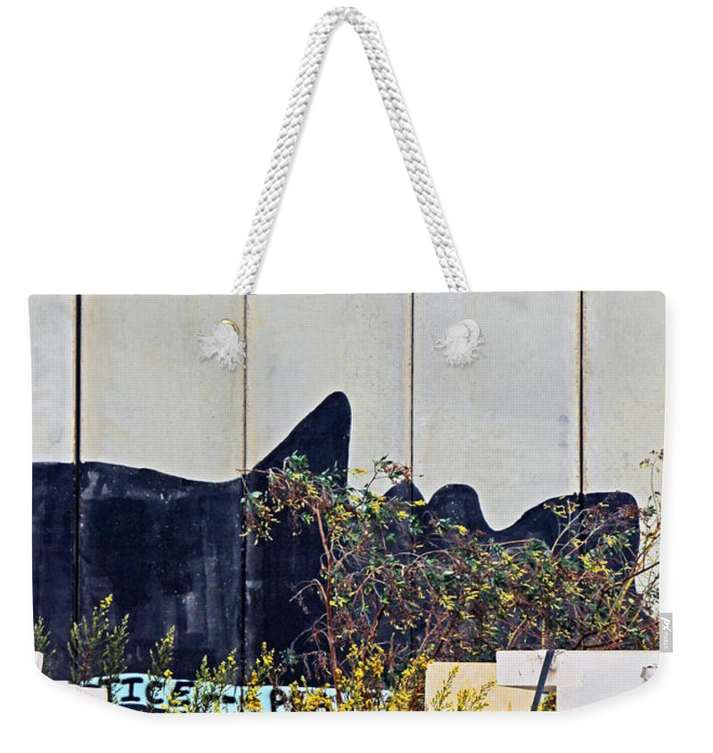 Waiting Game Weekender Tote Bag featuring the photograph The Waiting Game by Munir Alawi