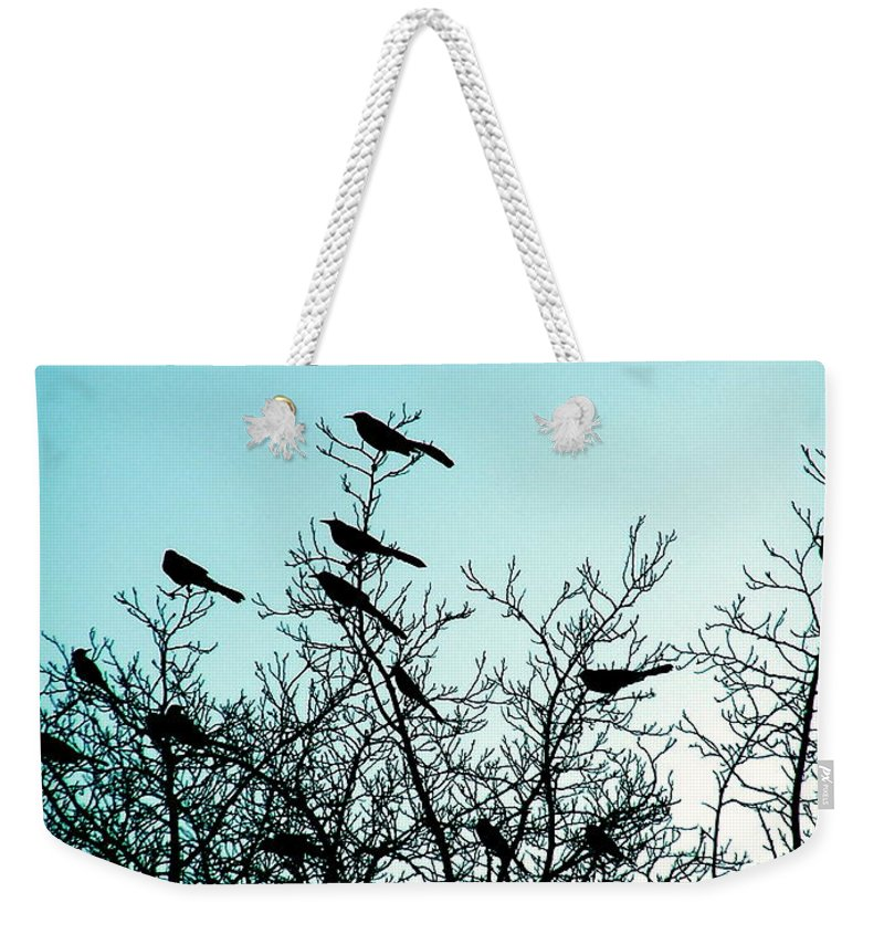Sunset Weekender Tote Bag featuring the photograph The Watch Tower by M Pace