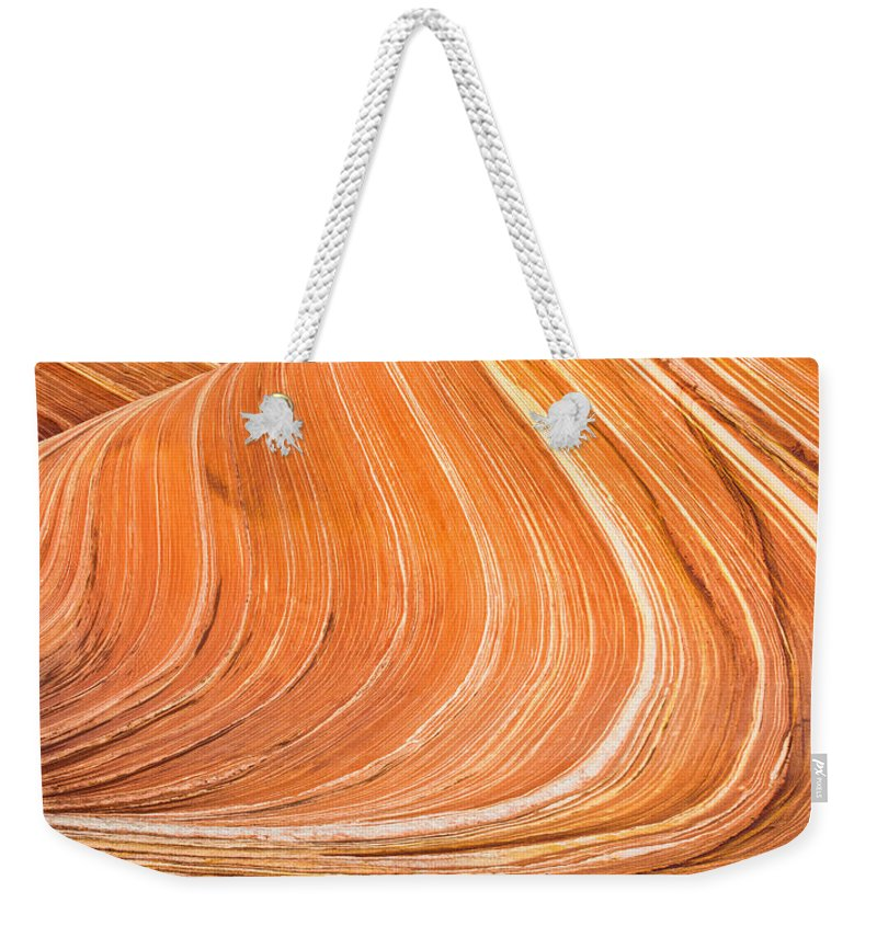 Wave Weekender Tote Bag featuring the photograph The Wave II by Chad Dutson