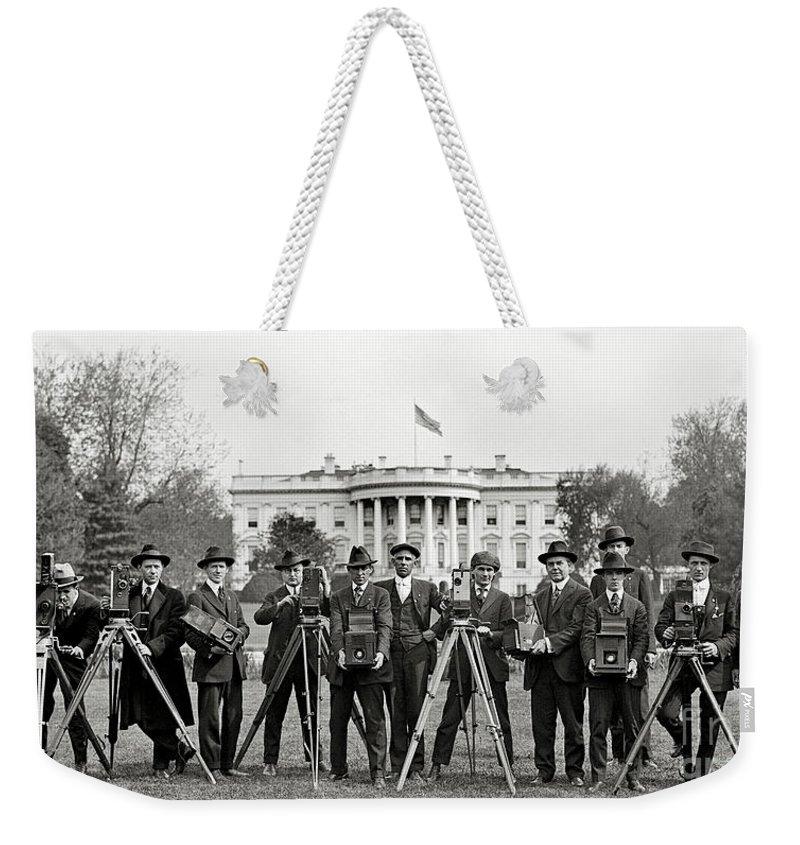 Whitehouse Weekender Tote Bags