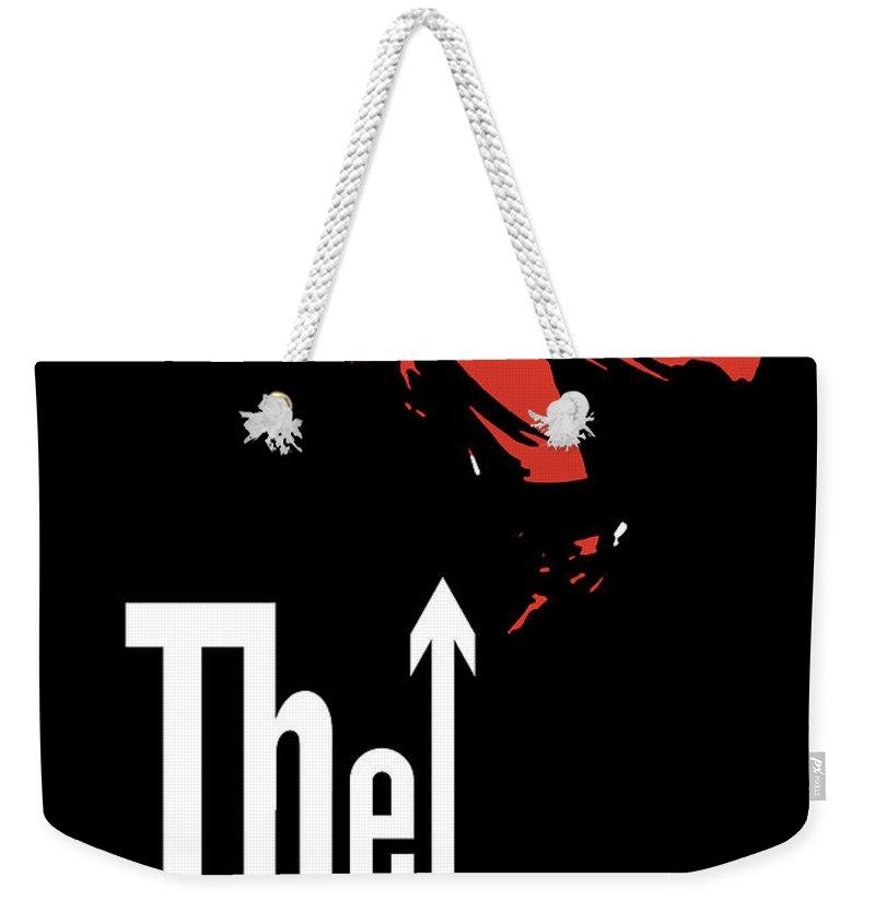 England Digital Art Weekender Tote Bags