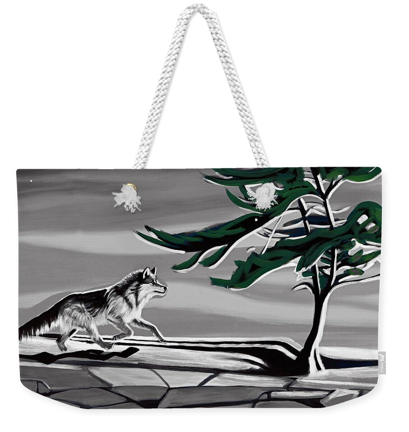 Wind Weekender Tote Bag featuring the photograph The Wind by Munir Alawi