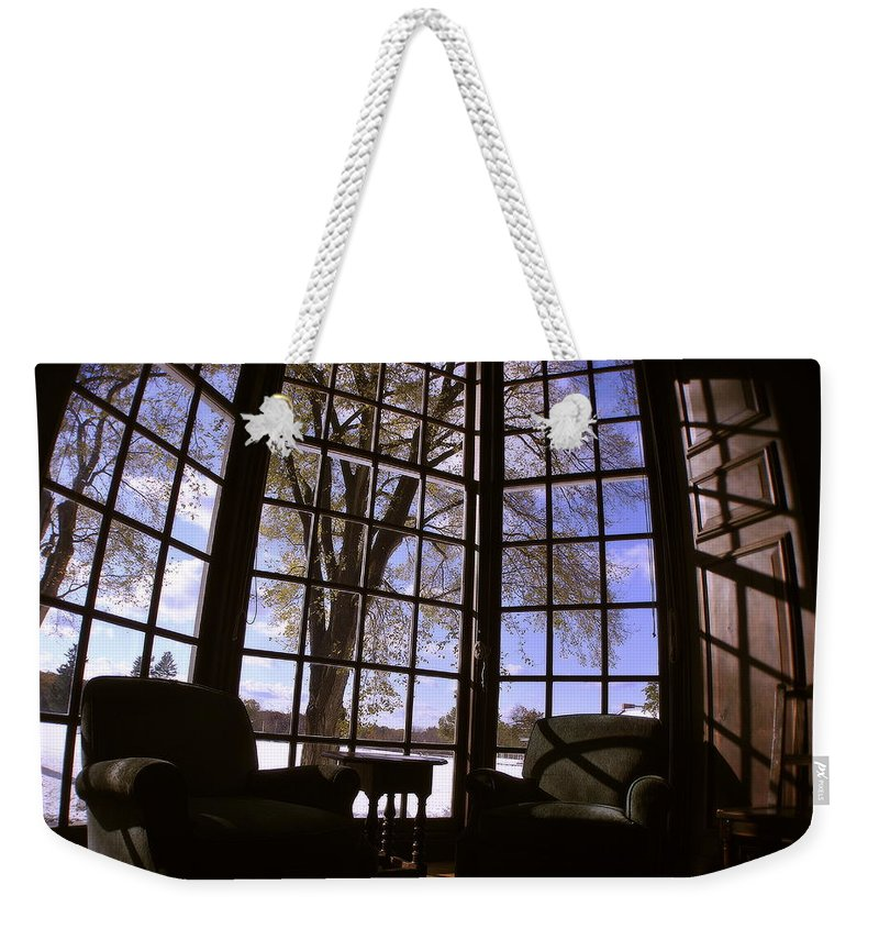 Groton School Weekender Tote Bag featuring the photograph The Window Seat by Marysue Ryan