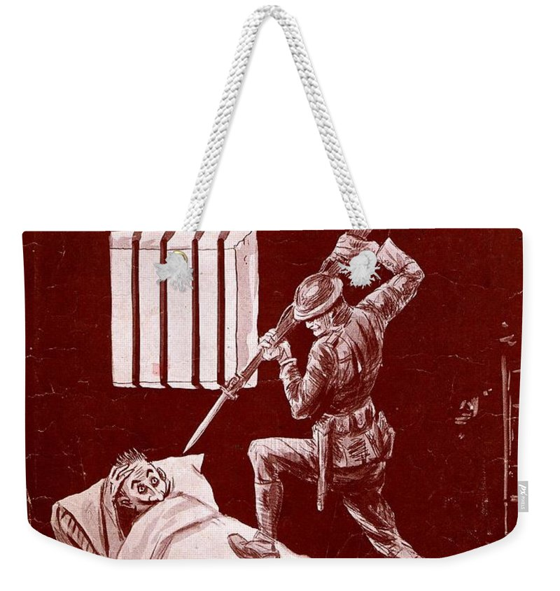 Nostalgia Weekender Tote Bag featuring the photograph The Worst Is Yet To Come by Mel Thompson