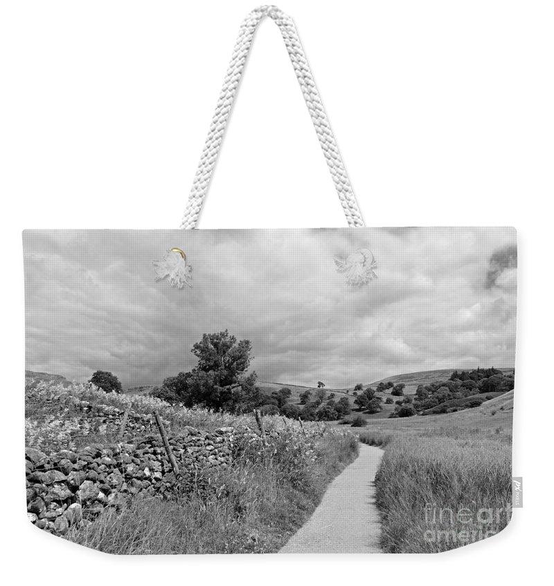 The Yorkshire Dales Uk Weekender Tote Bag featuring the photograph The Yorkshire Dales Uk by Julia Gavin