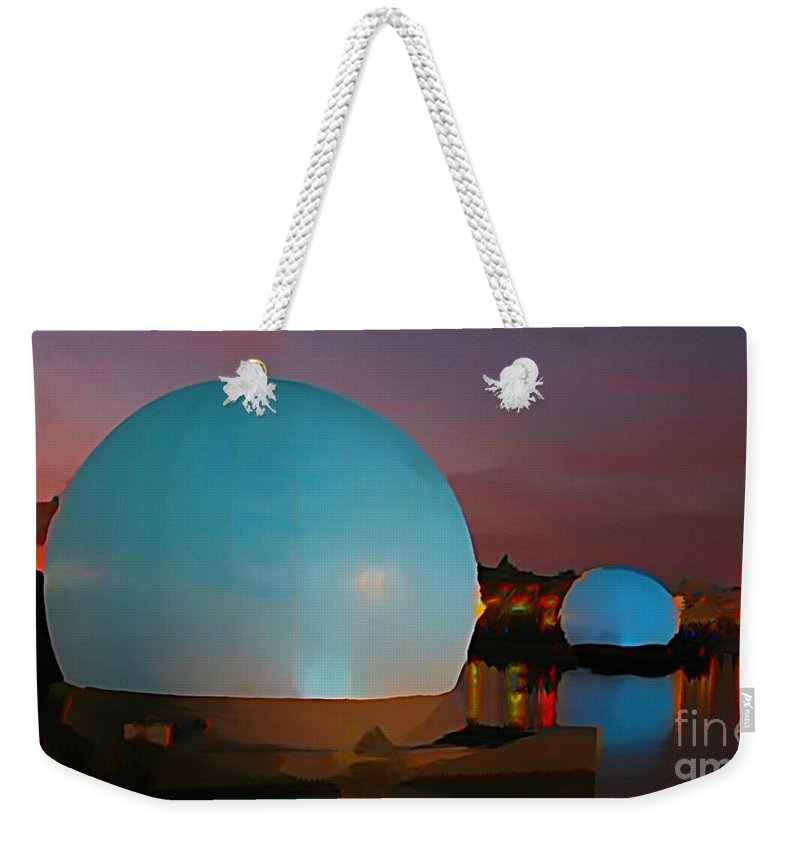 Fantasy Weekender Tote Bag featuring the photograph They Have Arrived by John Malone