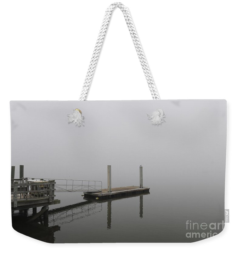 Fog Weekender Tote Bag featuring the photograph Thick As Smoke by Dale Powell
