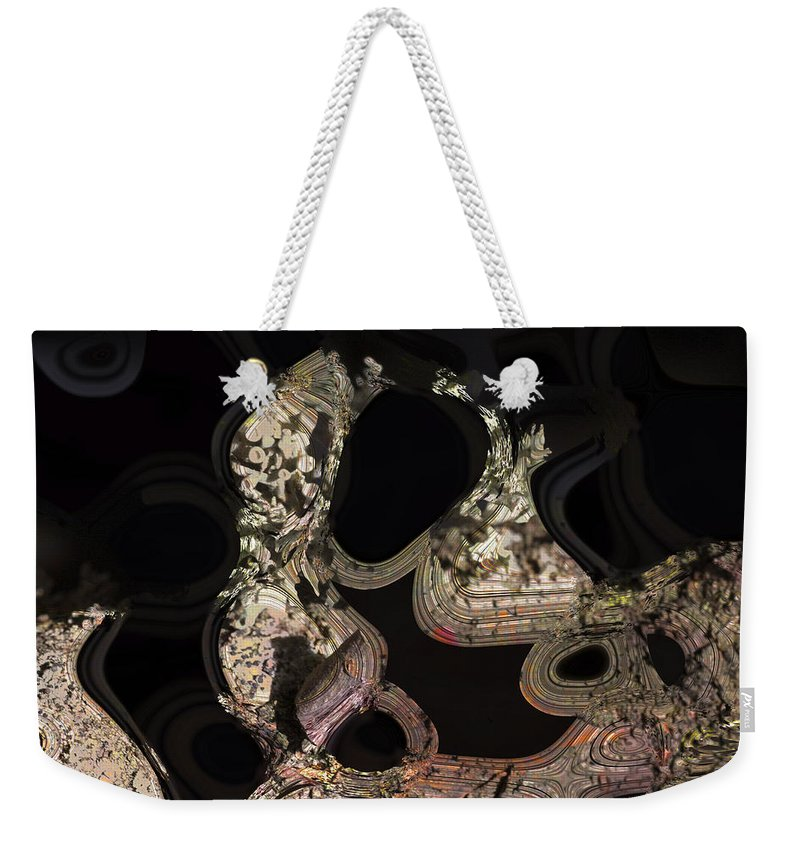 Abstract Weekender Tote Bag featuring the photograph Thirsty by Richard Thomas