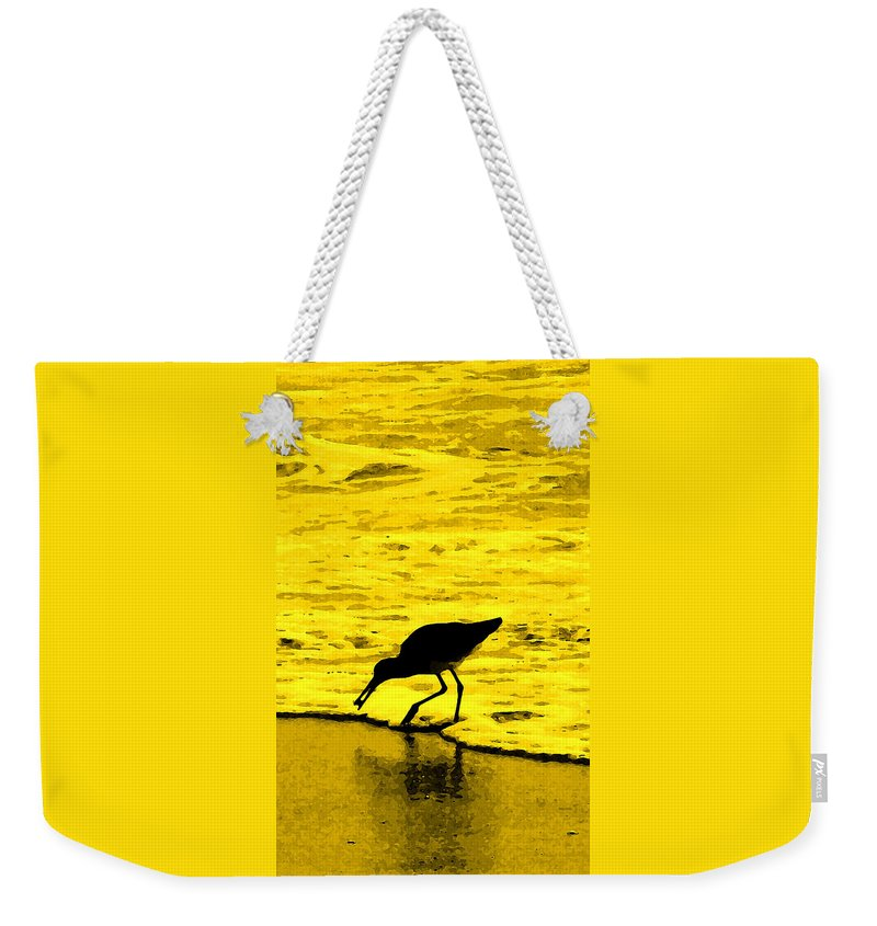 Florida Weekender Tote Bag featuring the photograph This Beach Belongs To Me by Ian MacDonald