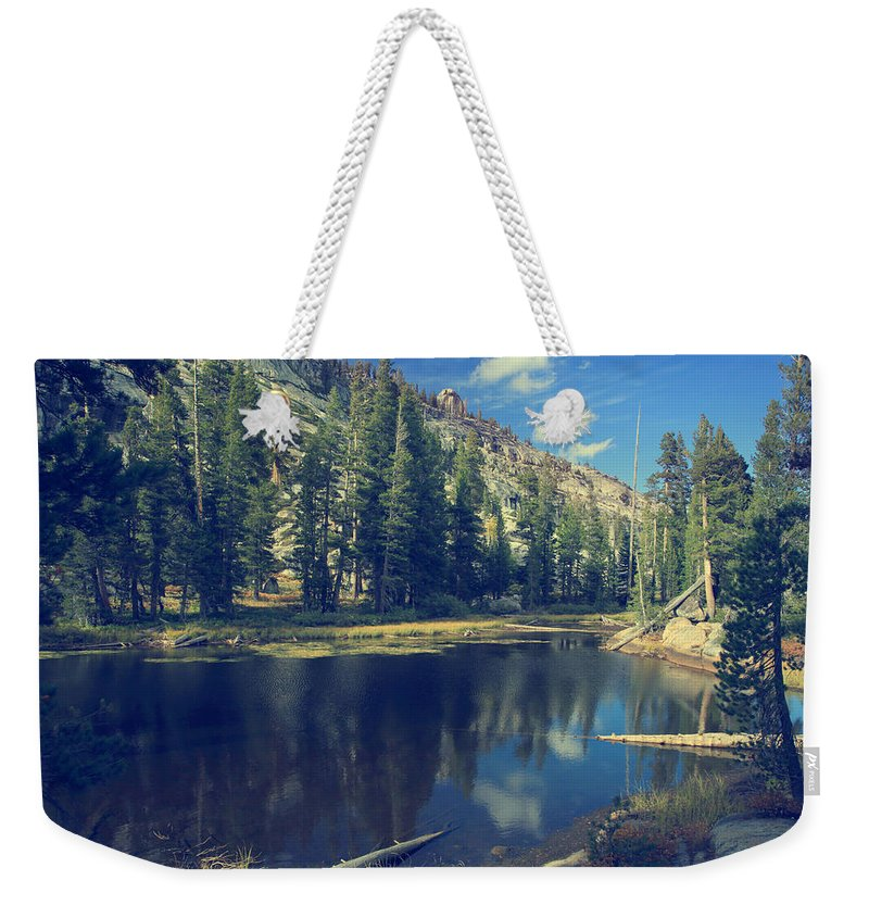 Yosemite National Park Weekender Tote Bag featuring the photograph This Beautiful Solitude by Laurie Search