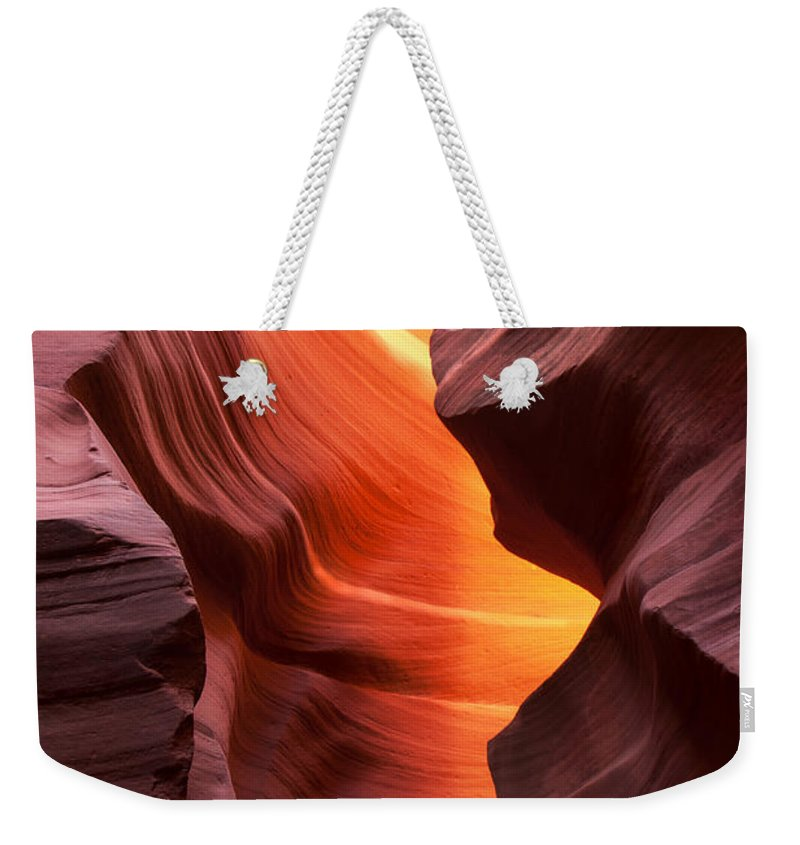 Antelope Weekender Tote Bag featuring the photograph This Is The Moment by Angela King-Jones