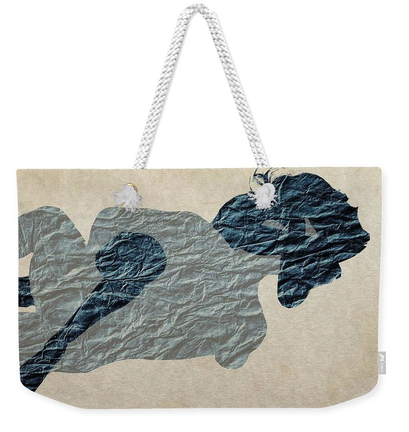 Couple Weekender Tote Bag featuring the painting This Night by Steve K