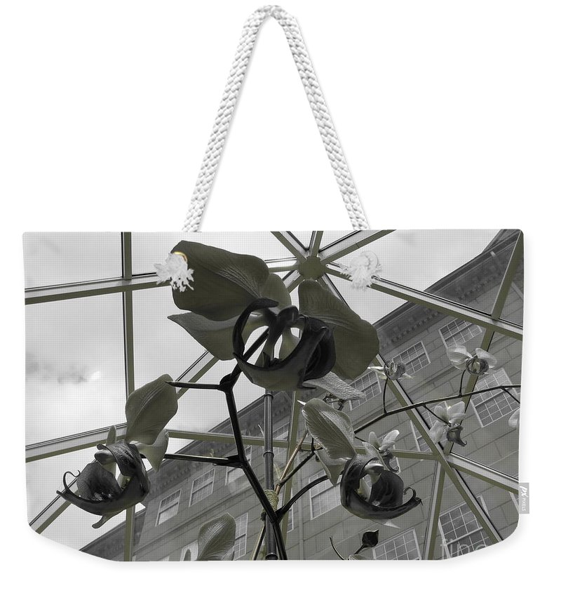 Orchid Weekender Tote Bag featuring the photograph Thorns by Michael Krek