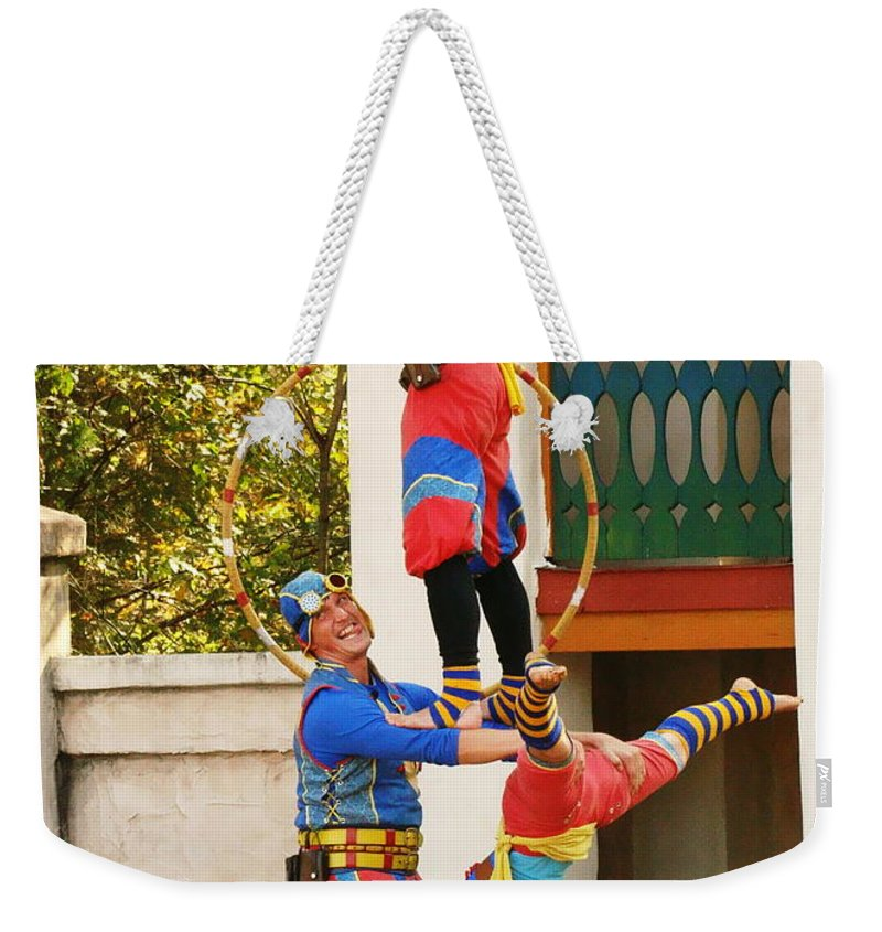 Fine Art Weekender Tote Bag featuring the photograph Those Awkward Moments by Rodney Lee Williams