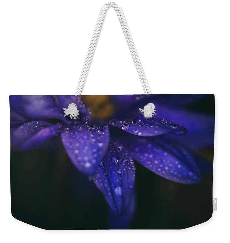 Flowers Weekender Tote Bag featuring the photograph Those Tears You Cry by Laurie Search