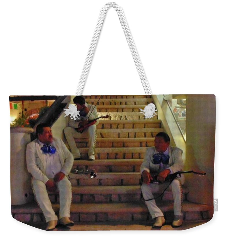 Three Amigos Weekender Tote Bag featuring the photograph Three Amigos by John Malone
