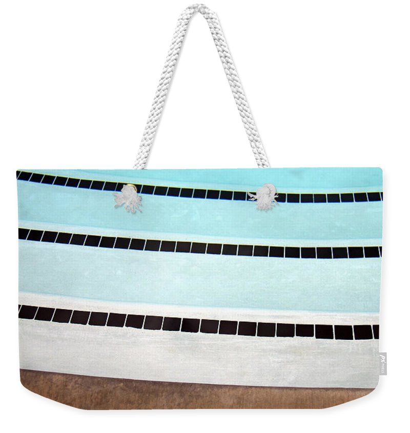 Three And A Half Weekender Tote Bag featuring the photograph Three And A Half Palm Springs by William Dey
