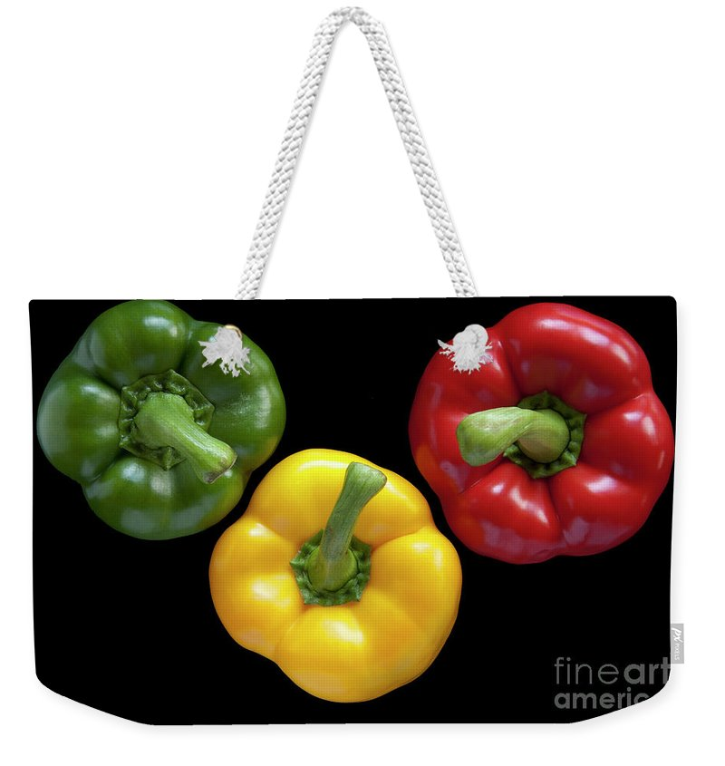 Heiko Weekender Tote Bag featuring the photograph Three Colors by Heiko Koehrer-Wagner