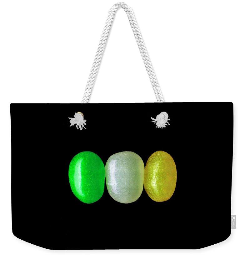 Three Jelly Beans Weekender Tote Bag