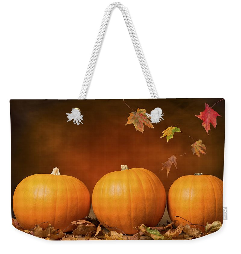 Fall Foliage Weekender Tote Bags