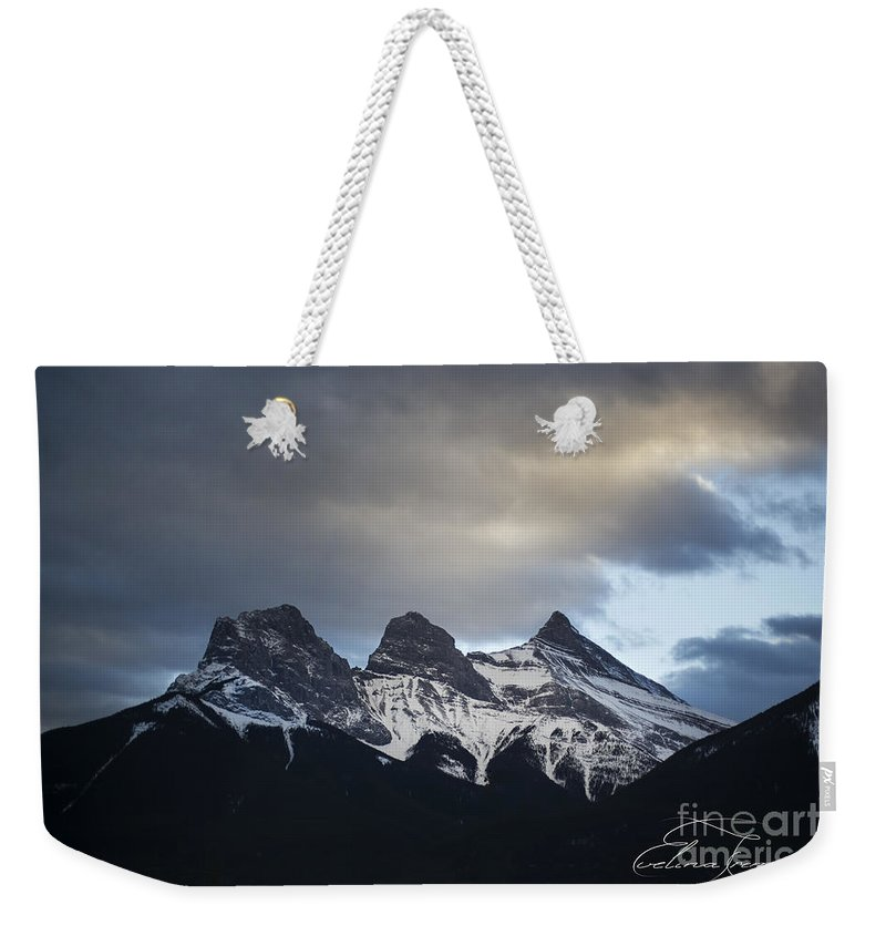 Three Sisters Weekender Tote Bag featuring the photograph Three Sisters - Special Request by Evelina Kremsdorf