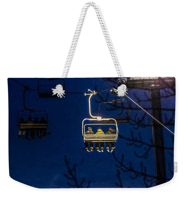 Mountains Weekender Tote Bag featuring the photograph Through The Light by Albert Seger