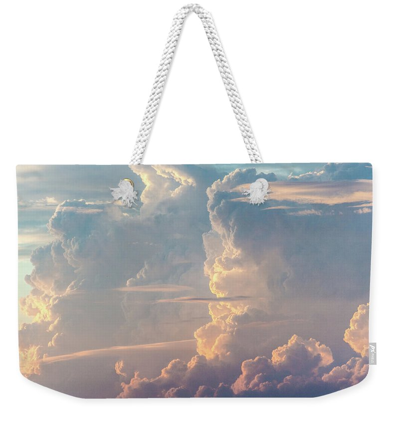 Tranquility Weekender Tote Bag featuring the photograph Thunder by Khh 1971