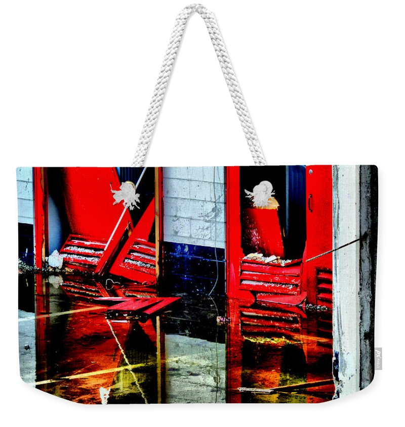 Hdr Weekender Tote Bag featuring the photograph Thunderbirds Are No-go by Steve Taylor
