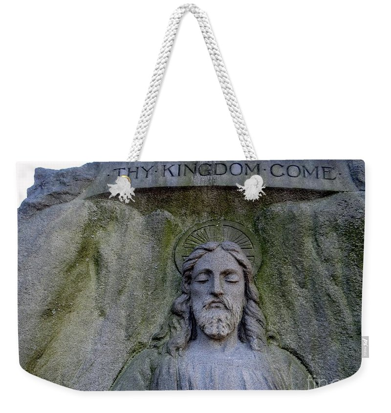 Jesus Weekender Tote Bag featuring the photograph Thy Kingdom Come by Ed Weidman