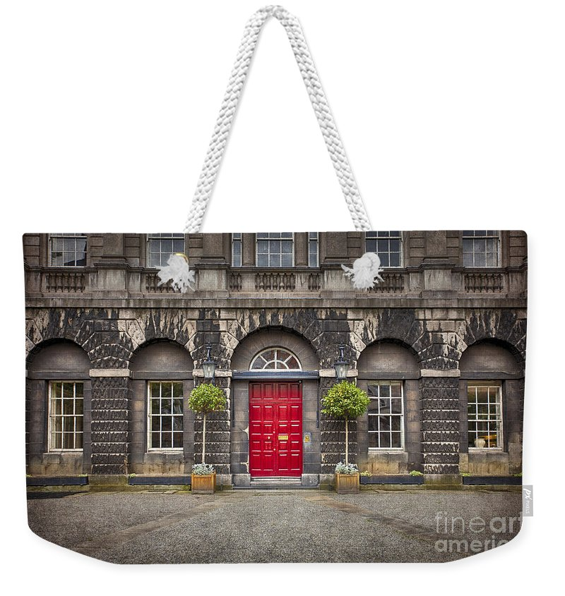 Dublin Weekender Tote Bag featuring the photograph Time After Time by Evelina Kremsdorf