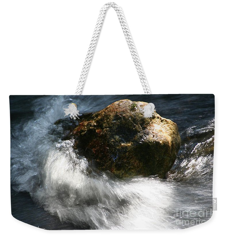 Outdoors Weekender Tote Bag featuring the photograph Time Rushing By by Susan Herber