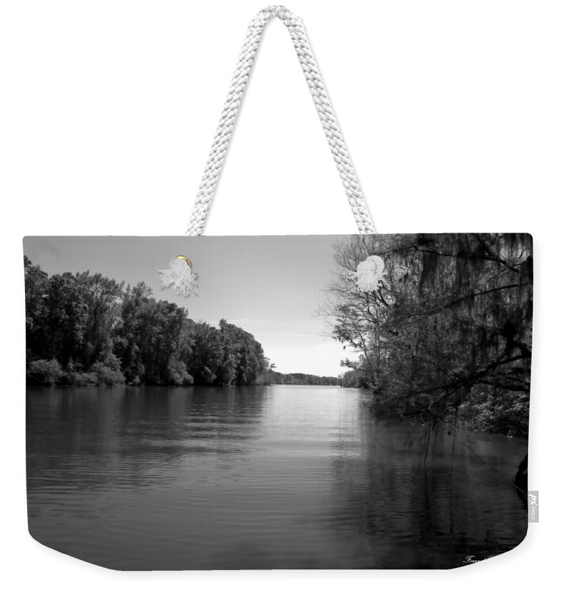 Boat Weekender Tote Bag featuring the photograph Time Stands Still by Debra Forand