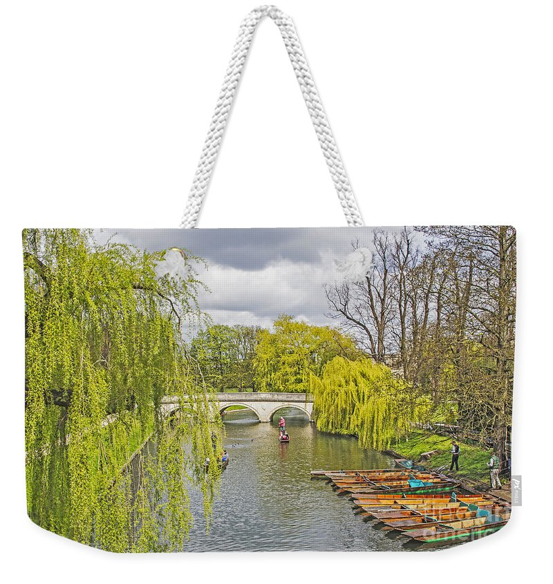 Travel Weekender Tote Bag featuring the photograph Time To Punt by Elvis Vaughn