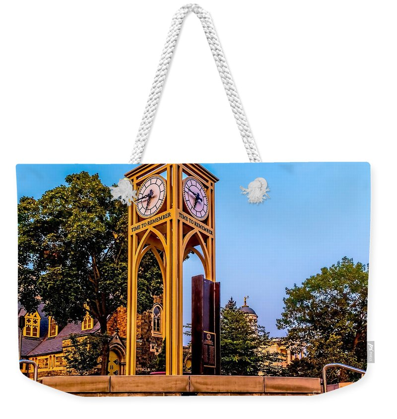 September Weekender Tote Bag featuring the photograph Time To Remember by Nick Zelinsky