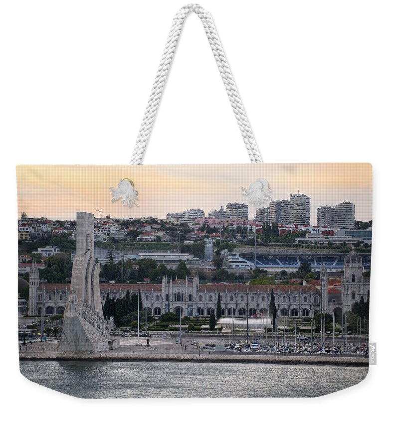 Sunset Weekender Tote Bag featuring the photograph Time To Say Goodbye by Lucinda Walter