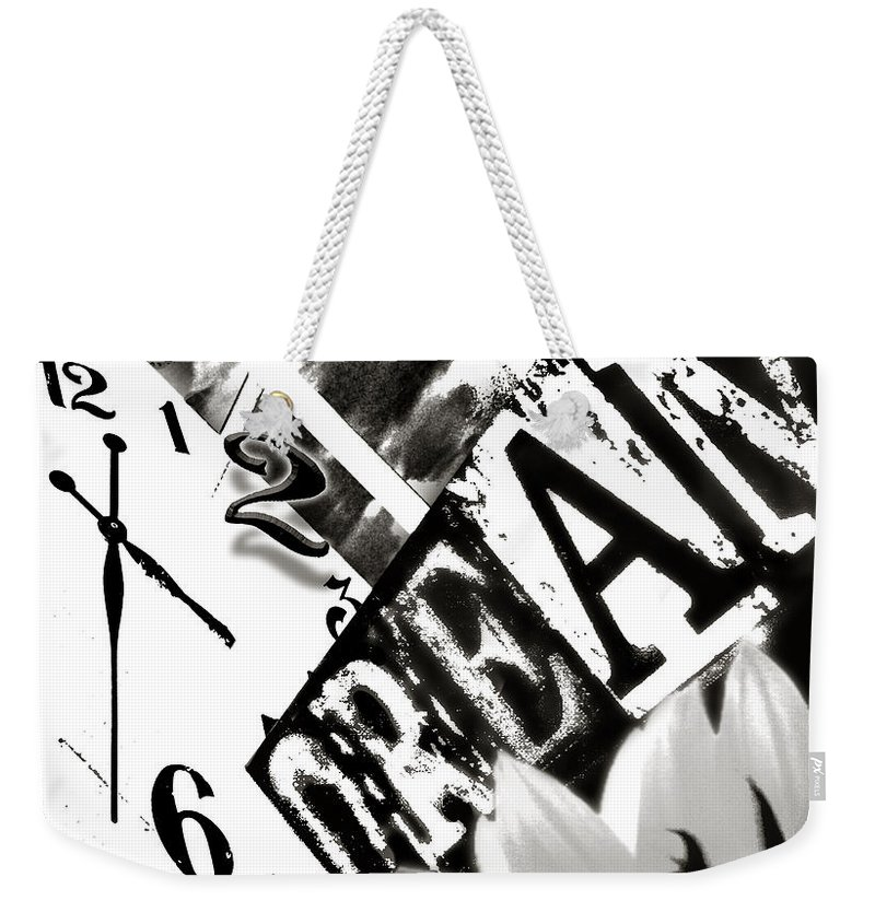 Time Weekender Tote Bag featuring the photograph Time2dream by Doug Heslep